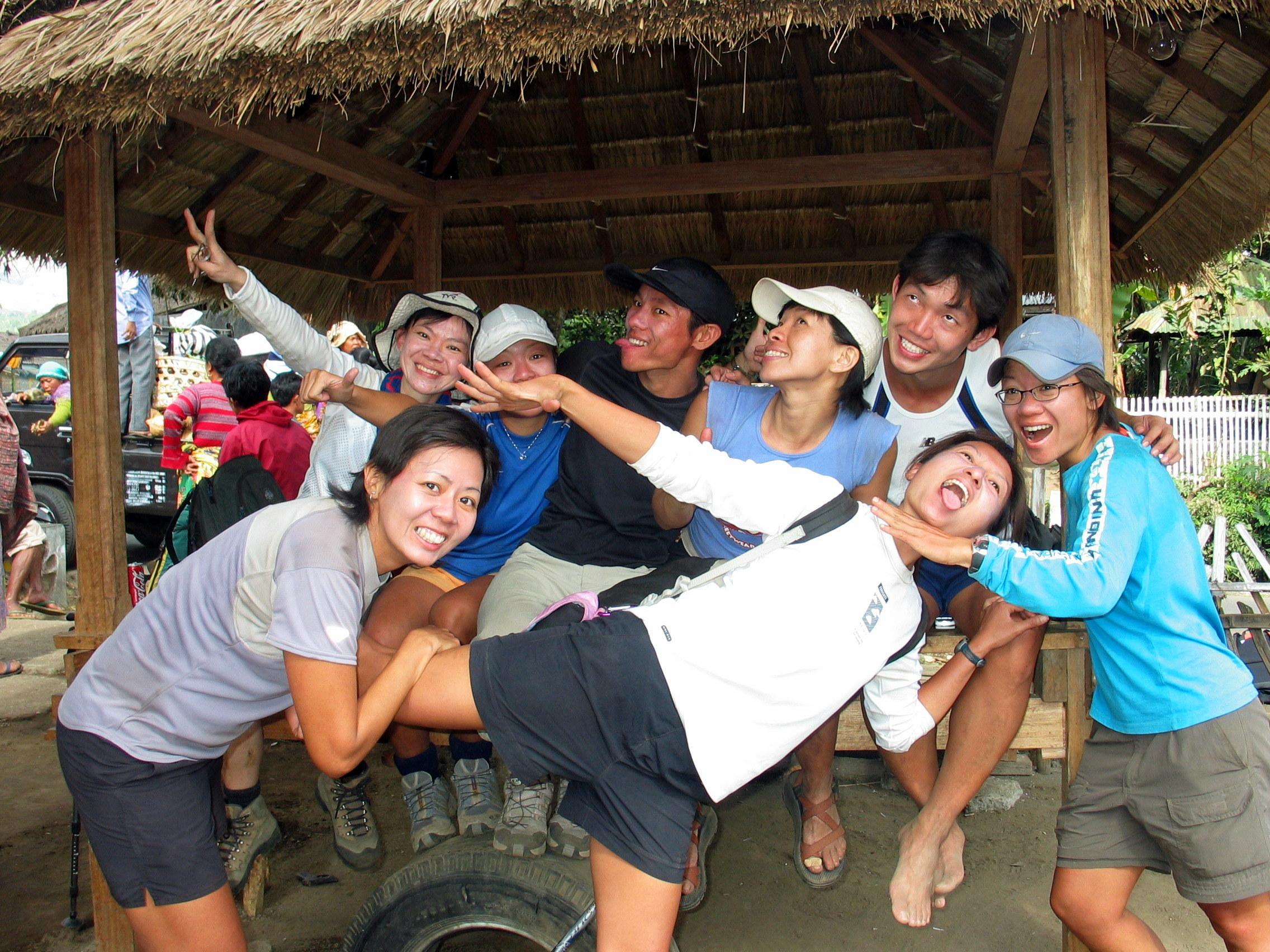 happy after trek!